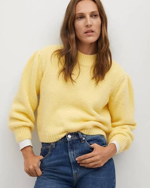 Žlutý svetr Mango