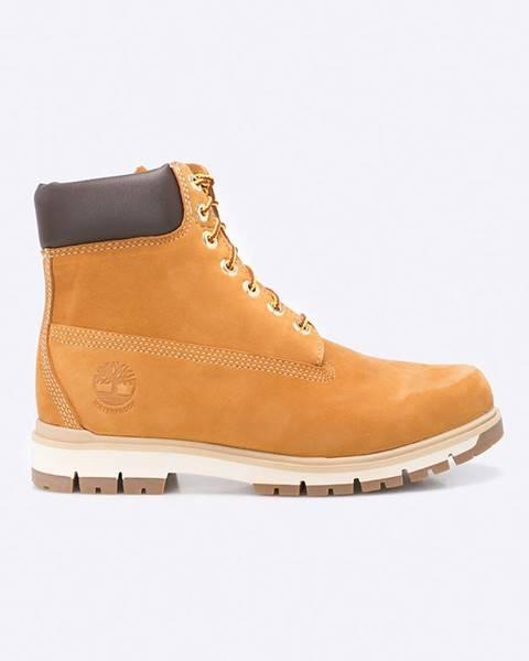 Hnědé boty Timberland