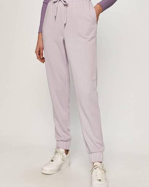 Fialové kalhoty vero moda