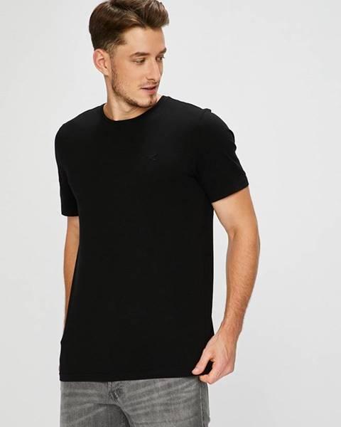 Černé tričko Mustang