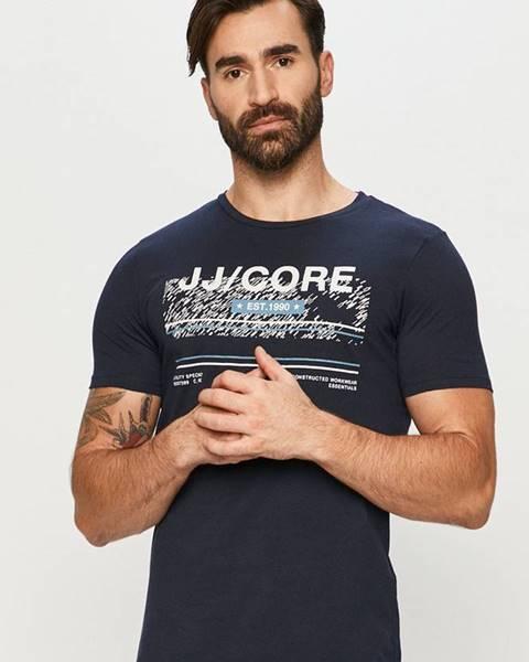 Modré tričko jack & jones