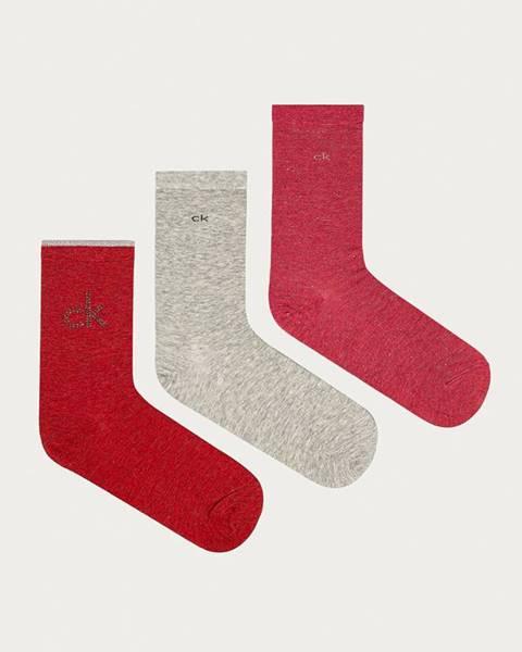 Červené spodní prádlo Calvin Klein