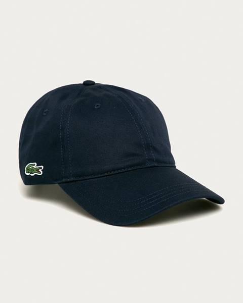 Modrá čepice lacoste