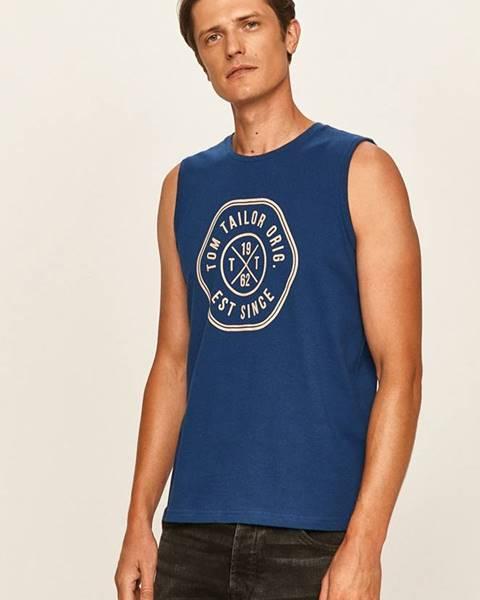 Modré tričko tom tailor