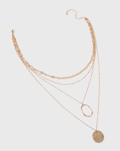 Zlatý náhrdelník MEDICINE