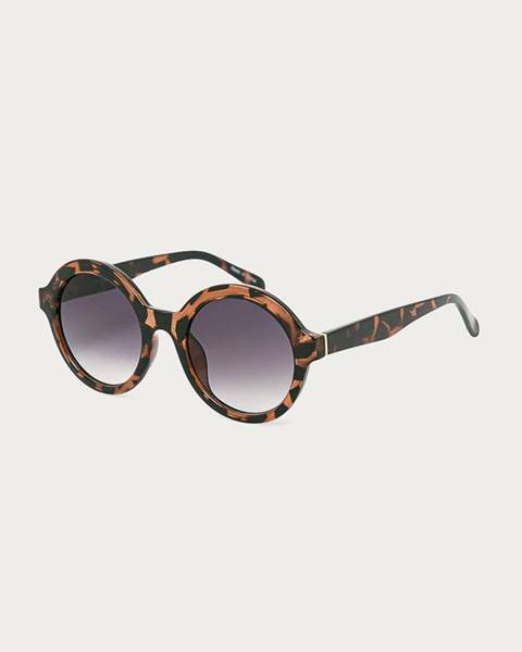 Hnědé brýle vero moda
