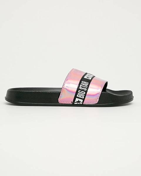 Růžové boty Big Star