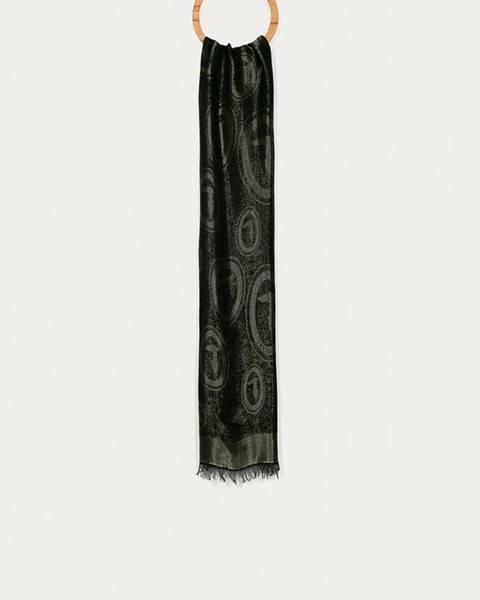 Černá šála Trussardi Jeans