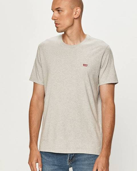 Šedé tričko Levi's