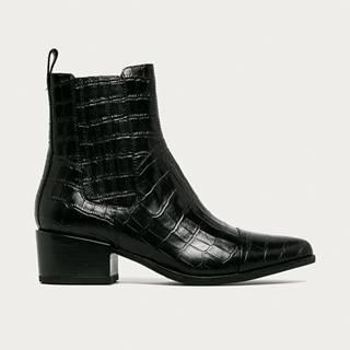 Vagabond - Westernové kožené boty Marja