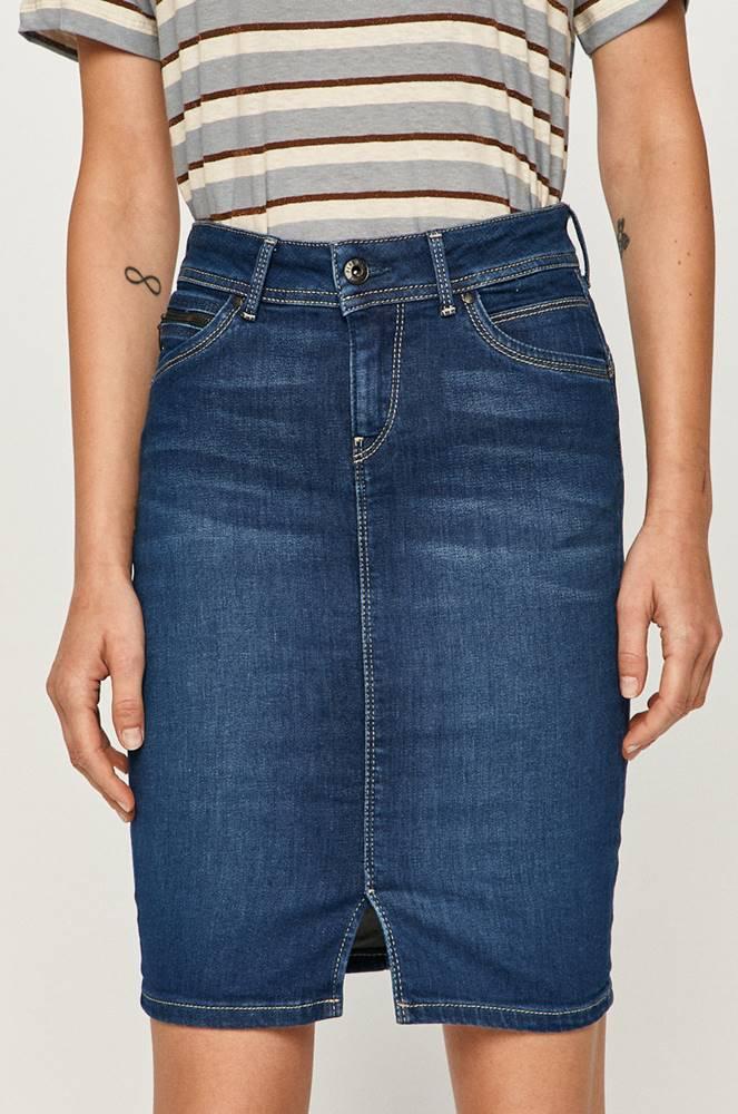 pepe jeans Pepe Jeans - Džínová sukně Taylor