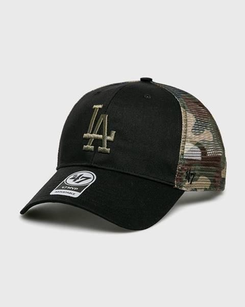 Černá čepice 47brand