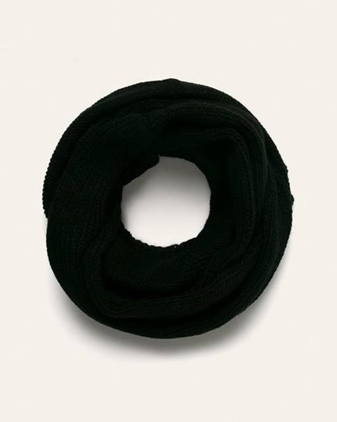 Černá šála ANSWEAR