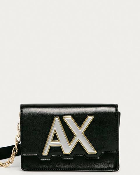 Černá kabelka Armani Exchange