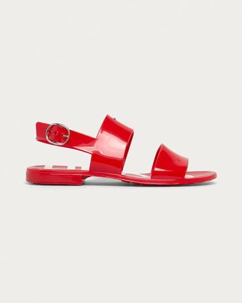 Červené boty HUGO