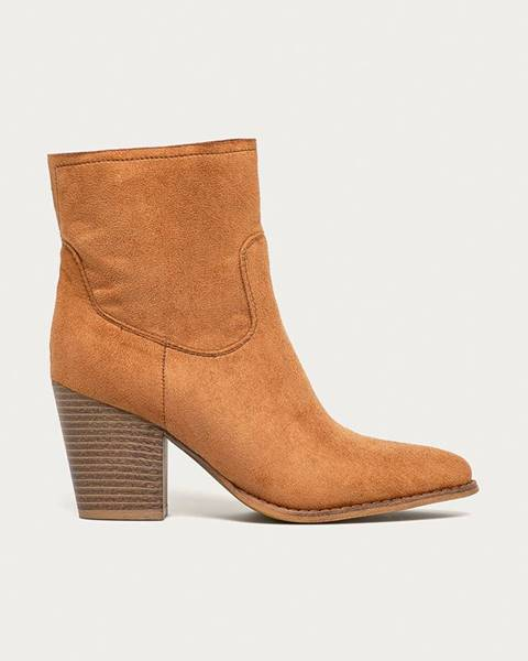 Hnědé boty Answear Lab