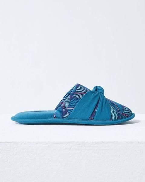 Modré boty Etam