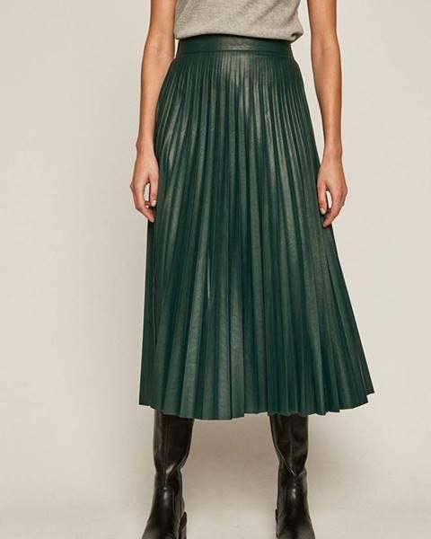 Zelená sukně MEDICINE