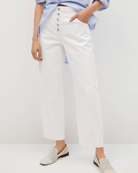 Bílé kalhoty Mango