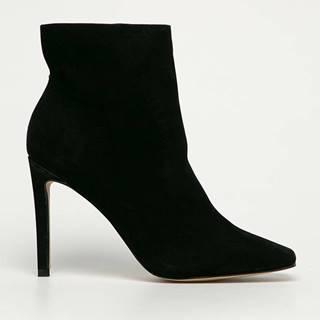 Aldo - Kožené kotníkové boty Bensetti