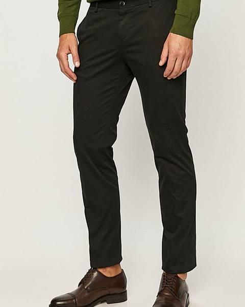 Černé kalhoty HUGO
