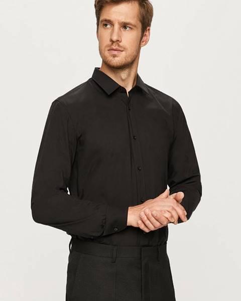 Černá košile HUGO