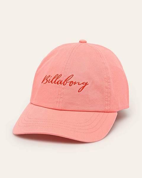 Růžová čepice Billabong