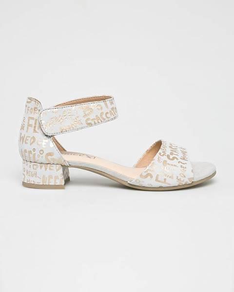 Bílé boty Caprice