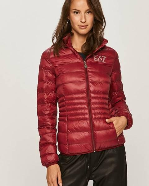 Růžová bunda EA7 Emporio Armani