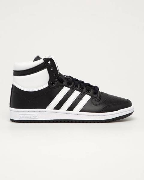 Černé boty adidas originals