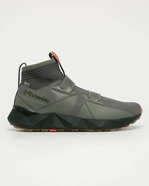 Zelené boty columbia