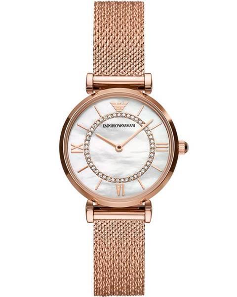 Zlaté hodinky Emporio Armani