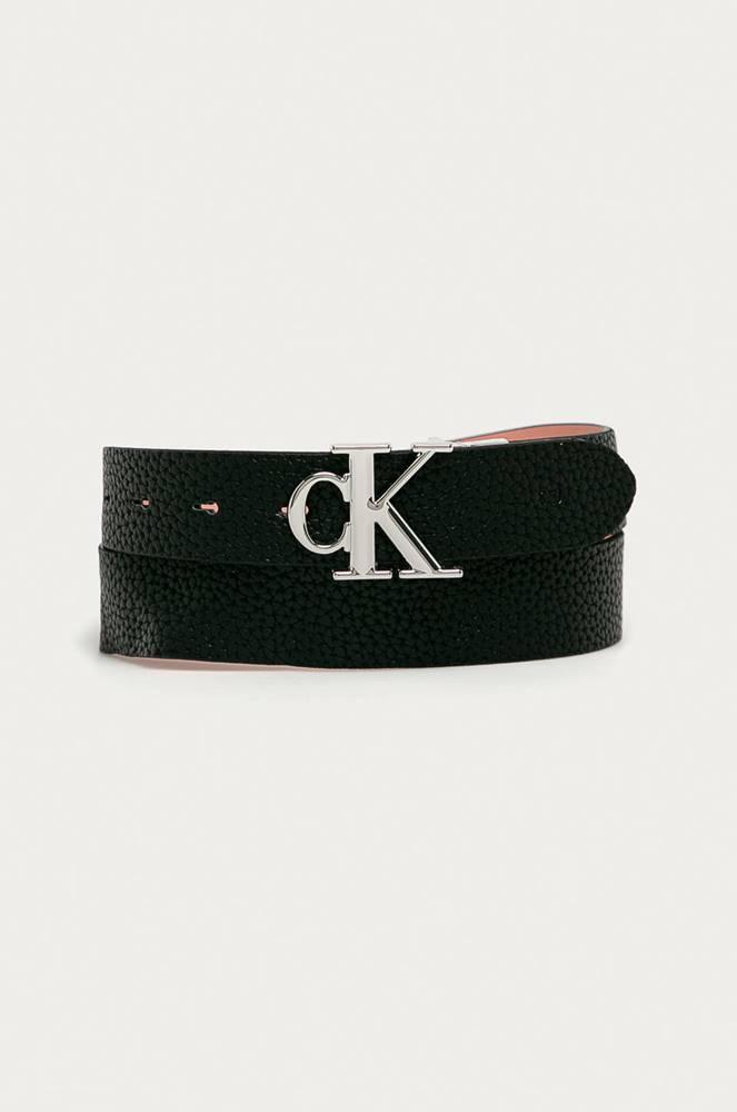 calvin klein jeans Calvin Klein Jeans - Oboustranný kožený pásek