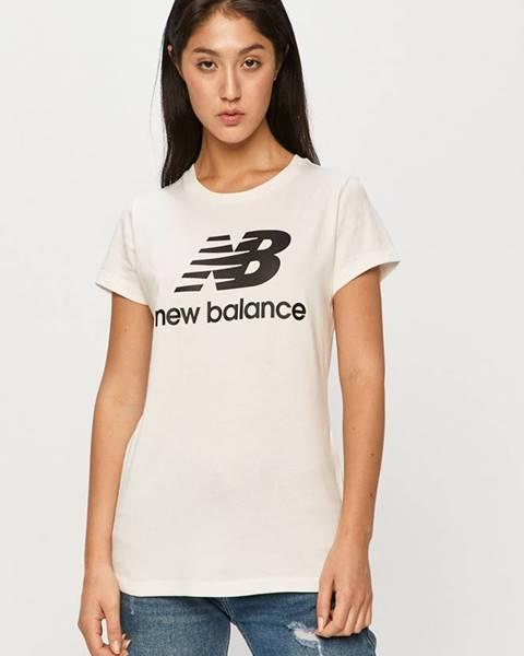 Bílý top new balance