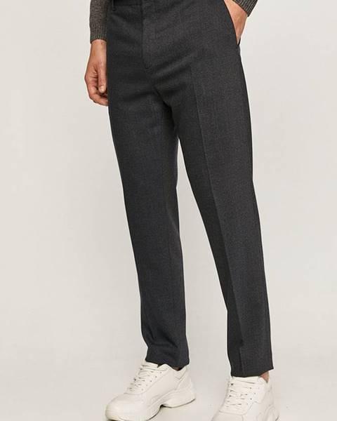Modré kalhoty Calvin Klein