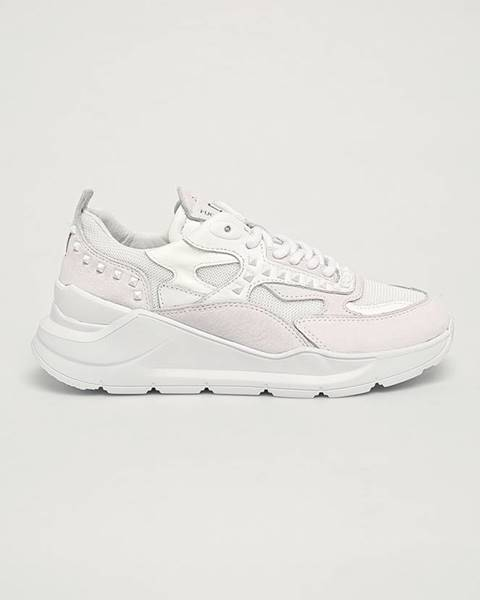 Bílé boty D.A.T.E.
