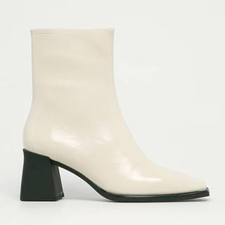 Vagabond - Kožené kotníkové boty Hedda