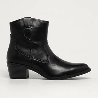 Marco Tozzi - Westernové kožené boty