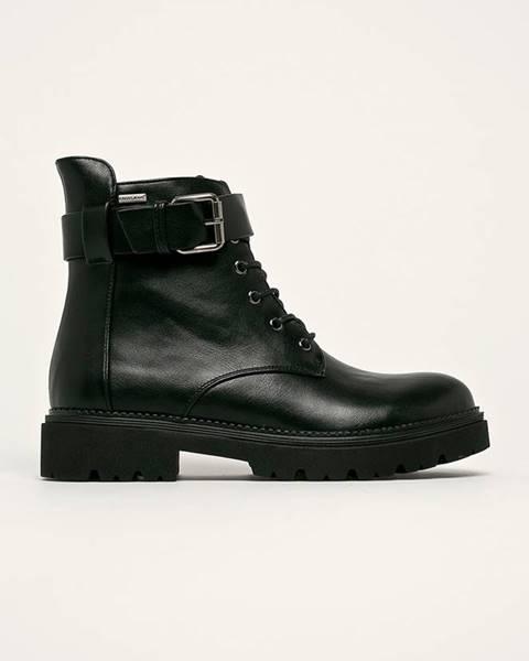 Černé boty cross jeans