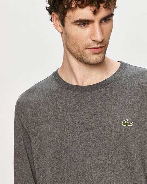 Šedé tričko lacoste