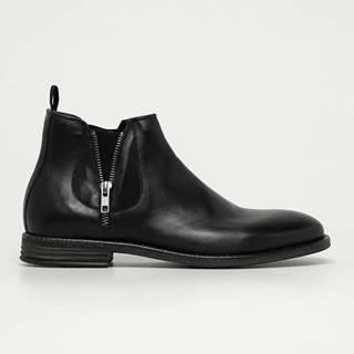 Aldo - Kožené boty Zeffrey