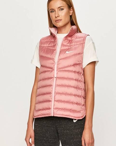 Růžová vesta Nike Sportswear