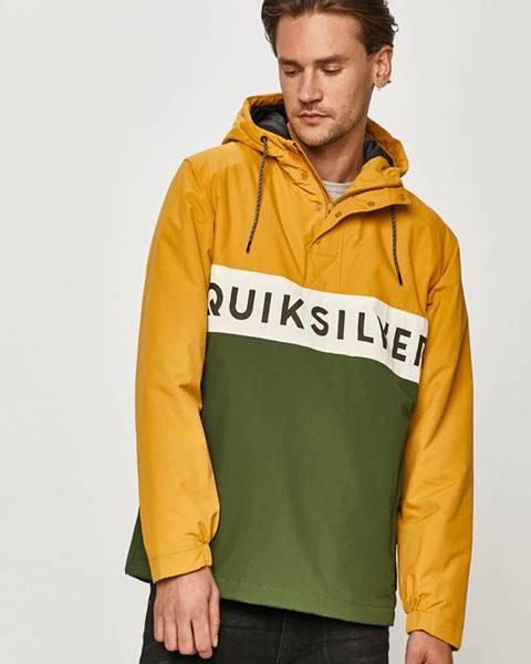 Vícebarevná bunda quiksilver