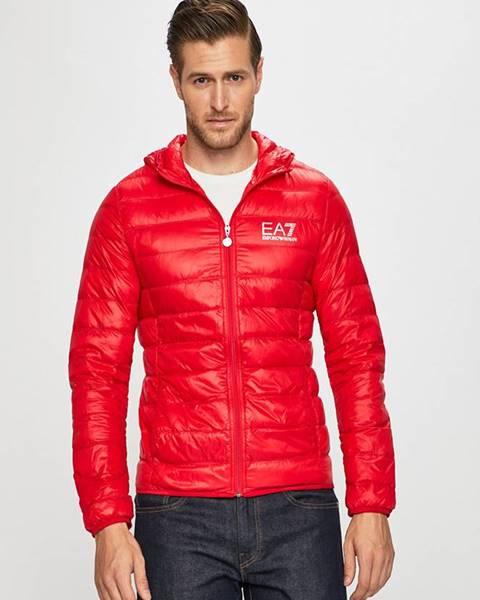 Červená bunda EA7 Emporio Armani