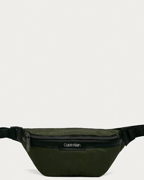 Zelená ledvinka Calvin Klein