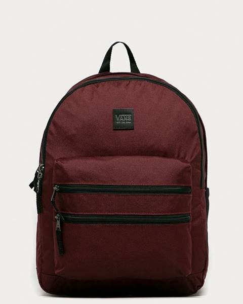 Fialový batoh vans