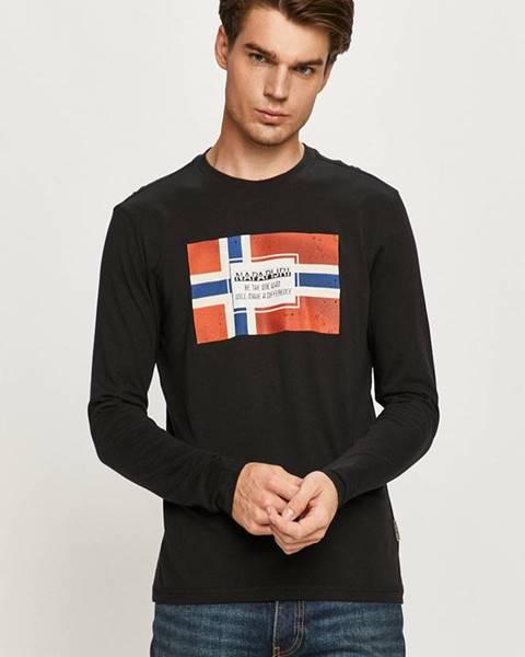 Černé tričko Napapijri