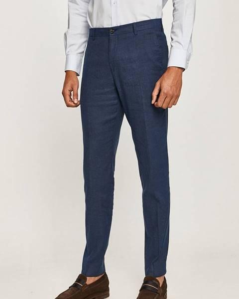 Modré kalhoty Tommy Hilfiger Tailored