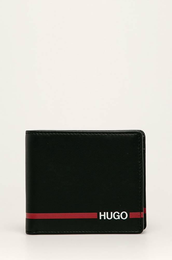 HUGO Hugo - Kožená peněženka + klíčenka