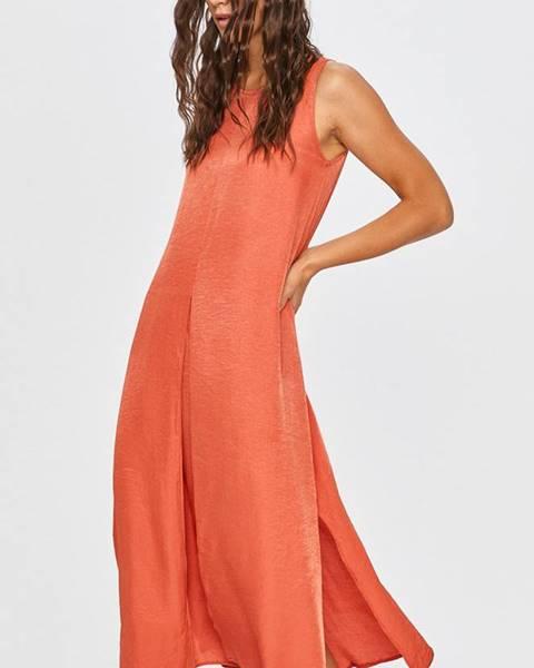 Červené šaty Answear Lab